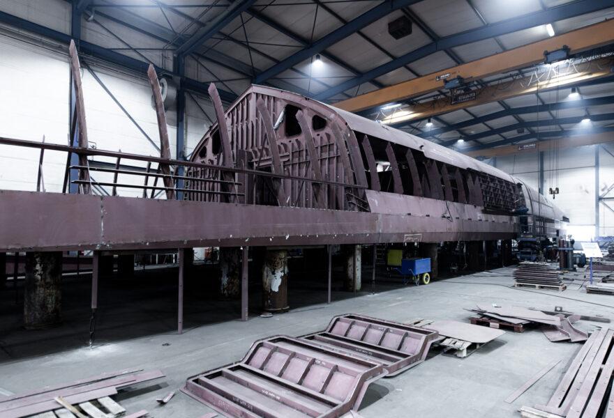 Steel Hull Heesen 67 Meter